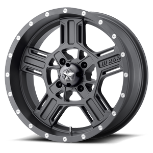 MSA Offroad Wheels M32 Axe 4 Matte Gray