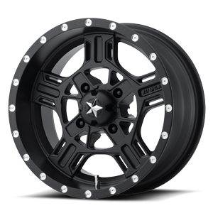 MSA Offroad Wheels M32 Axe 4 Satin Black