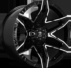 RBP Wheels 70R Quantum 8 Black Machined