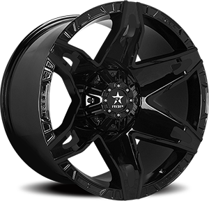 RBP Wheels 70R Quantum 8 Gloss Black