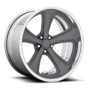 US Mags Rascal Concave - U591 5 Matte Textured Gunmetal