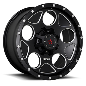 RBP Wheels 85R Voltage 8 Satin Black w/ Machined Accents