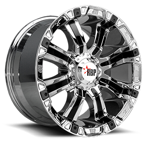 RBP Wheels 94R 8 Chrome Plated