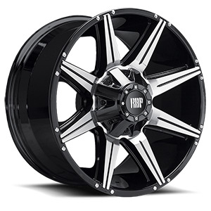 RBP Wheels 98R 6 Gloss Black Machined