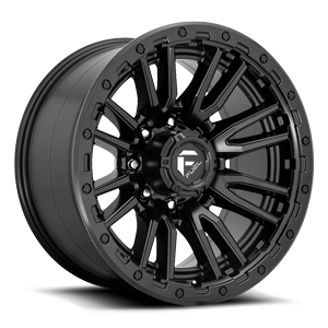 Rebel 8 - D679 Matte Black 8 lug