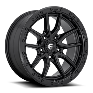 Rebel 5 - D679 Matte Black 5 lug