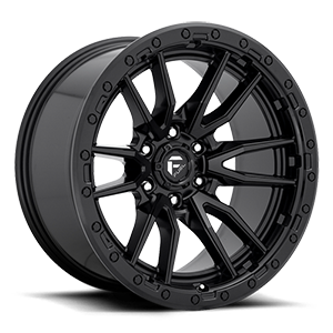 Fuel 1-Piece Wheels Rebel 6 - D679 6 Matte Black