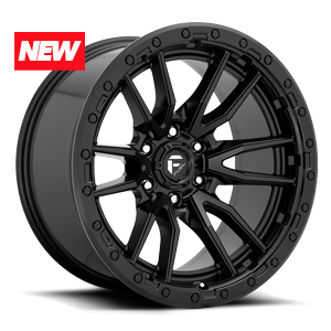 Fuel 1-Piece Wheels Rebel - D679 6 Matte Black