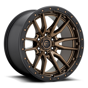 Rebel 6 - D681 Bronze w/ Black Lip 6 lug