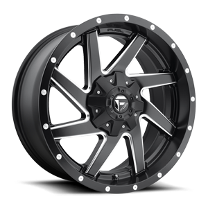 Fuel 1-Piece Wheels Renegade - D594 6 Black & Milled