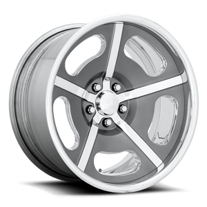 Rio Grande Concave - U594 Matte Space Grey w/ Polished Windows & Lip 5 lug