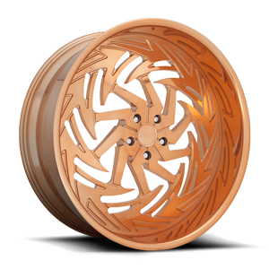 Riptide - X112 Rose Gold 5 lug