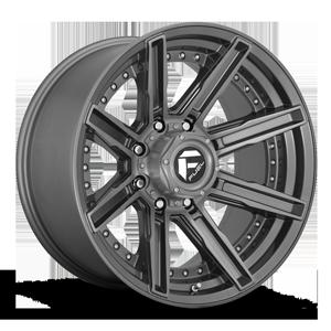 Fuel 1-Piece Wheels Rogue - D710 8 Platinum