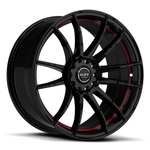 Ruff Racing R959 5 Satin Black w/ Red Undercut