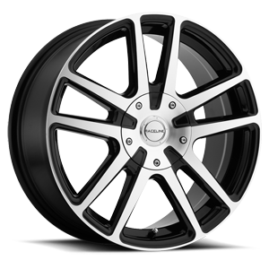 Raceline Wheels 145 Encore 5 Gloss Black Machined Face