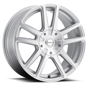 Raceline Wheels 145 Encore 5 Silver Brushed