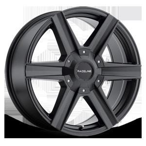 Raceline Wheels 157 Phantom 6 Satin Black