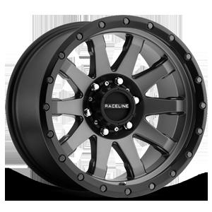 Raceline Wheels 934 Clutch 6 Gunmetal