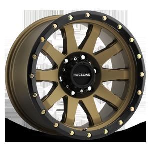 Raceline Wheels 934 Clutch 6 Matte Bronze
