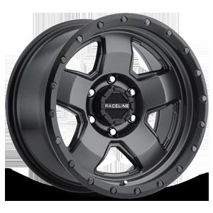 Raceline Wheels 937 6 Gunmetal with Black Ring