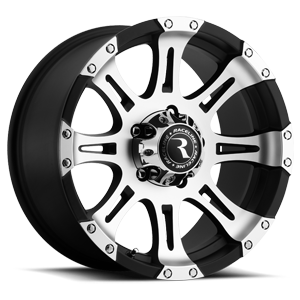 Raceline Wheels 982 Raptor 5 Gloss Black with Machine Face
