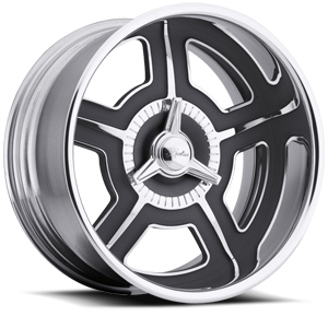 Raceline Wheels Scoundrel 5 Chrome with Black Inserts