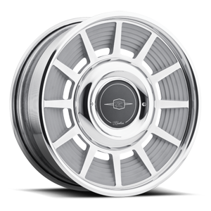 Raceline Wheels Manhattan 5 Gunmetal Center/Chrome Hoop