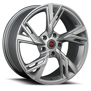 Revolution Racing R25 5 Silver Brushed