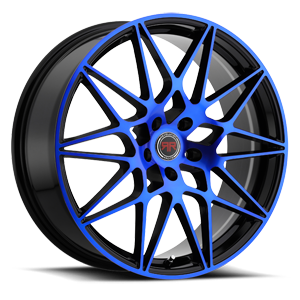 R11 Black/Blue 5 lug