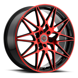 R11 Black/Red 5 lug