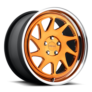 OZT hi polish trans gloss copper | polished lip 5 lug