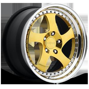 Rotiform TMB 5 Gold w/Polished Lip