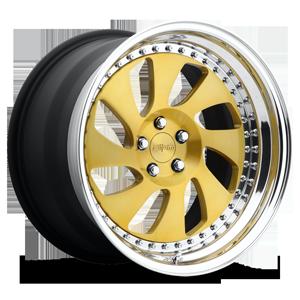 Rotiform WRW 5 Brushed Gold