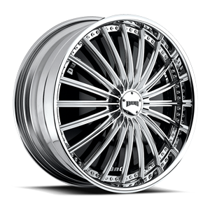 DUB Spinners Roulette - S770 5 Chrome