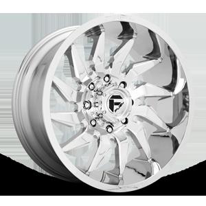 Fuel 1-Piece Wheels Saber - D743 8 Chrome