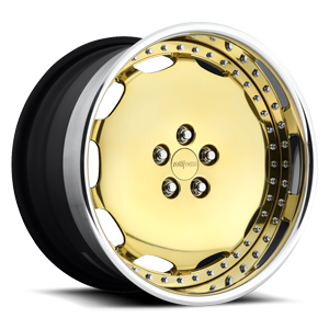 Rotiform SCR 5 Gold w/Polished Lip