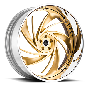 Savini Diamond Carpi 5 Brushed Gold