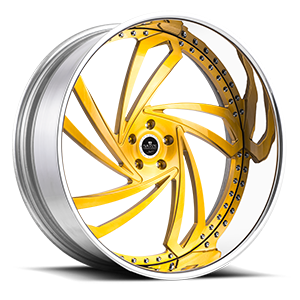 Savini Diamond Lazio 5 Brushed Gold