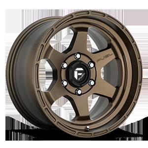 Fuel 1-Piece Wheels Shok - D666 6 Bronze