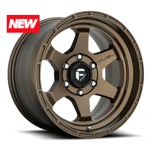Fuel 1-Piece Wheels Shok - D666 5 Bronze