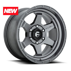 Fuel 1-Piece Wheels Shok - D665 6 Anthracite