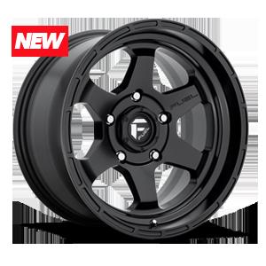 Fuel 1-Piece Wheels Shok - D664 5 Matte Black