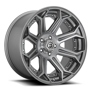 Fuel 1-Piece Wheels Siege - D705 5 Platinum
