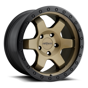 SIX-OR Bronze w/ Black Ring 5 lug