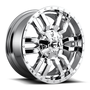 Fuel 1-Piece Wheels Sledge - D631 5 Chrome
