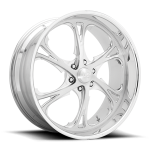 Spur 6 - Precision Series Polished 6 lug