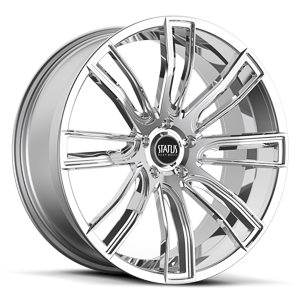 Status Wheels S833 Twerk 5 Chrome