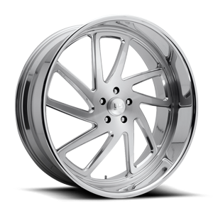 Stryker - Precision Series Brushed w/ Polished Lip 5 lug