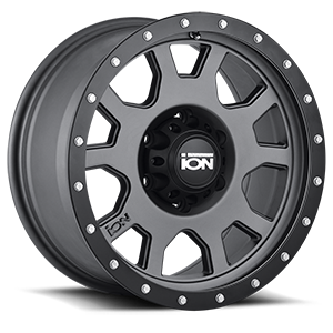 Ion Alloy Wheels 135 6 Matte Gunmetal