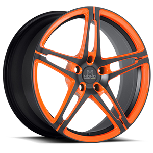 Savini Forged SV10-M 5 Matte Black with Orange